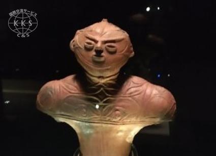 北海道初の国宝「中空土偶」を常設展示