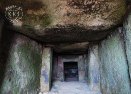 【国指定文化財】横穴式石室を持つ大型前方後円墳